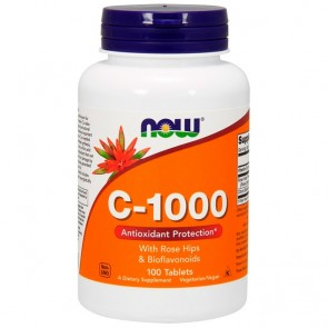 VITAMINA C - Now Foods (1000mg)