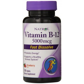 Vitamina B12 (100 tabletes) [Sublingual] - Natrol