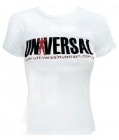 Camiseta Feminina Branca Universal