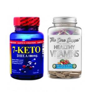 COMBO 7 KETO 100 + HEALTHY VITAMINS