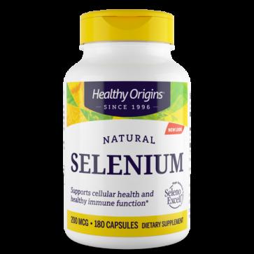 SELENIUM Excell Selenium 200mcg 180s HEALTHY Origins