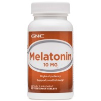 Melatonina 10mg (60 tabs) - GNC