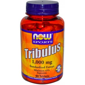 Tribulus Terrestris 1000mg Now Foods