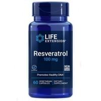Resveratrol 100mg (60 cápsulas) - Life Extension