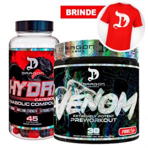 Combo: Venom (30 doses) + Hydra (45 caps) - Dragon Pharma