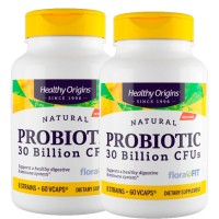 Combo: 2un Probiotic 30 Billion CFU's (60caps) - Healthy Origins