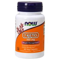 7-Keto 100mg (60 caps) - Now Foods