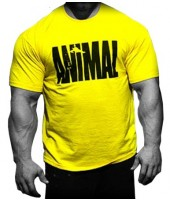 Camiseta ANIMAL Amarela - Universal