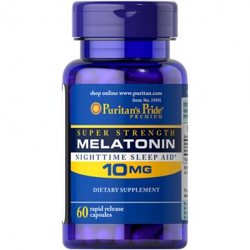 Melatonina 10mg (60 caps) - Puritan's Pride Puritans Pride