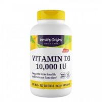 Vitamina D3 10.000 IU (360 softgels) - Healthy Origins