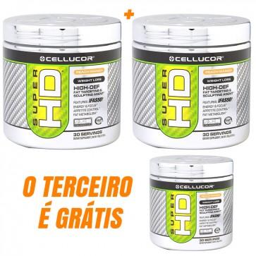 COMPRE 2 e LEVE 3 - Super HD Powder (30 porções) - Cellucor