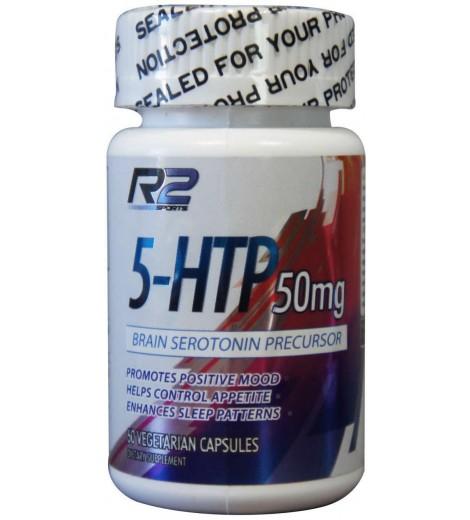 5-HTP 50mg (60 cápsulas) - R2 Research Labs