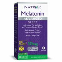 Melatonin Advanced Sleep 10mg Tab-100 NATROL