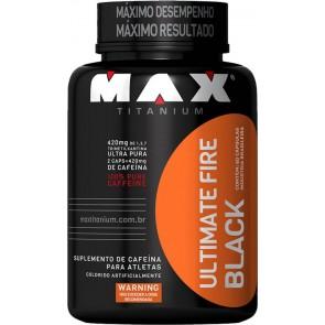 Ultimate Fire Black (60 Cápsulas) - Max Titanium