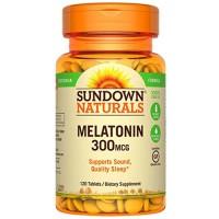 Melatonina 300 mcg (120 tabs) - Sundown Naturals