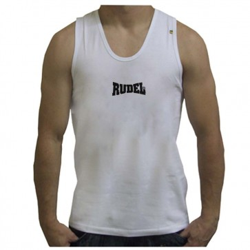 Regata Branca Masculina Bodybuilder Rudel