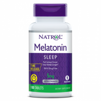 Melatonina Time Release 5mg (100 Tabletes) Natro