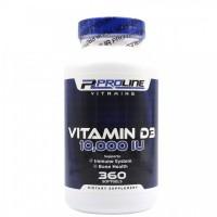 Vitamina D3 10,000 360s PLV - ProLine