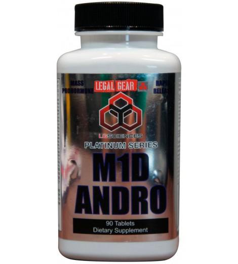 M1D Andro (90 cápsulas) - LG Sciences