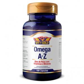 Omega A - Z - Óleo de Peixe com Vitaminas e Minerais (100 cápsulas) - VitGold