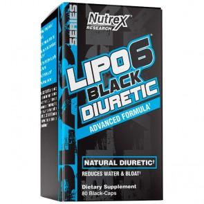Lipo 6 Black Diuretic (80 cápsulas) - Nutrex