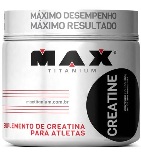 Creatina Max Titanium 300G