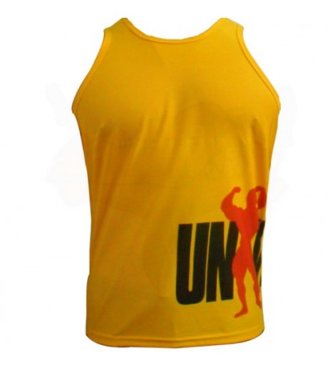 Camiseta Regata Amarela (Dry Fit) - Universal