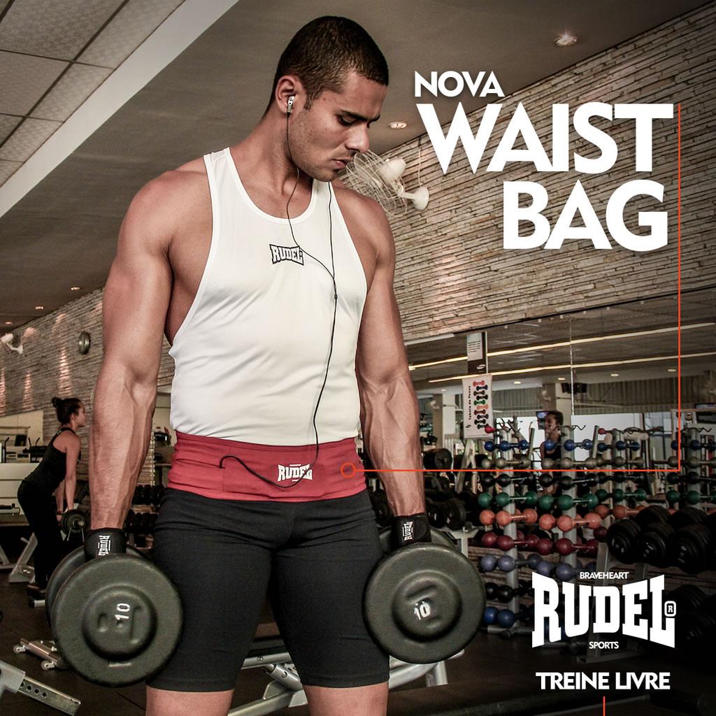Waist Bag - Cinto Esportivo