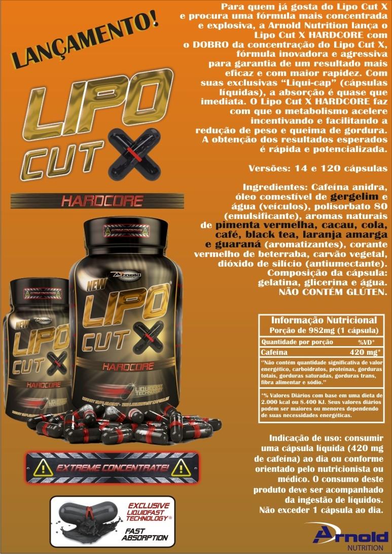 Lipo Cut X Hardcore - Banner