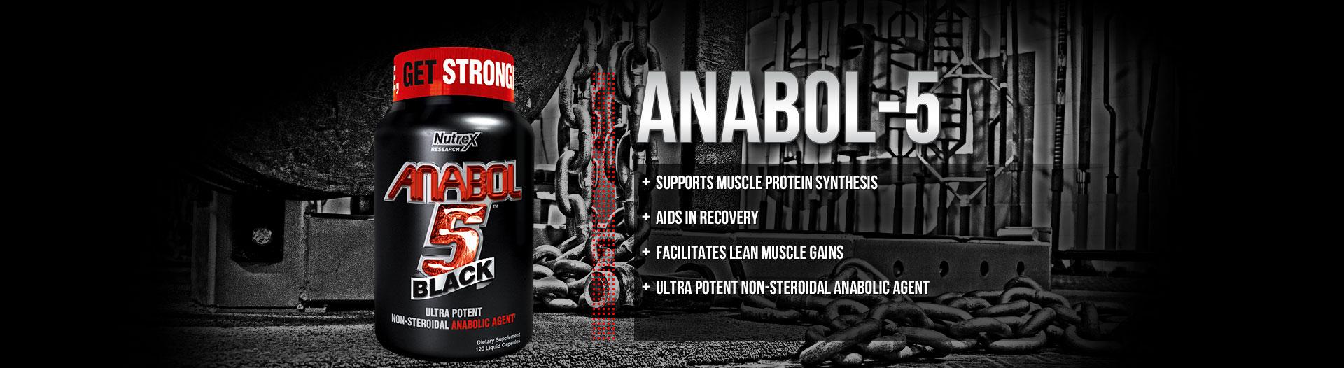 Anabol 5 Black