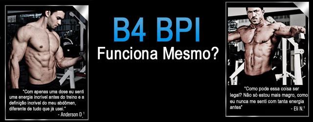 B4 - BPI Sports - Pré-treino - Termogênico