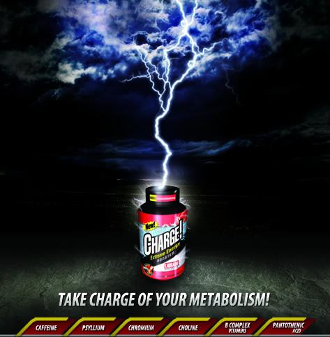 Charge! - Labrada - Termogênico