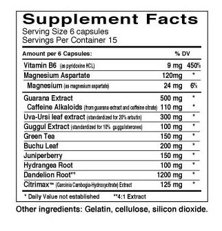 Dyma Retic - Dymatize - Tabela Nutricional