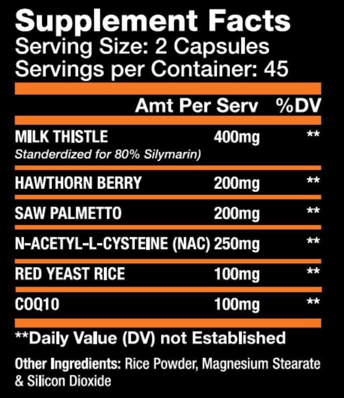 L-Stane Tabela Nutricional