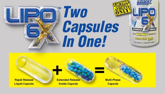 Lipo 6X - Nutrex - Termogênico Multi-fase - Multi Phase - Comprar Lipo 6X