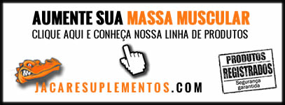 Ganhar Massa Muscular | Jacaré Suplementos
