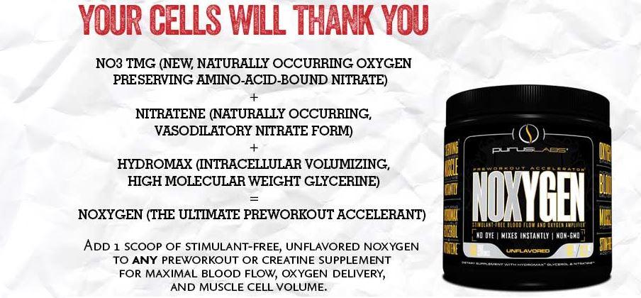 Noxygen Benefícios