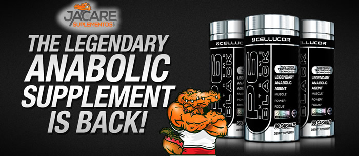 P6 Extreme Black - Cellucor