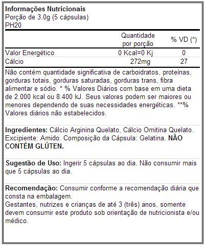 PH20 - Tabela Nutricional