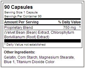 Powerfull USPLabs - Tabela Nutricional