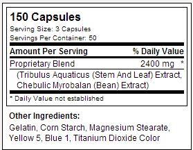 Prime USPLabs - Tabela Nutricional