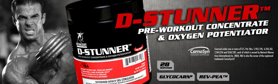 D-Stunner - Pré-Treino