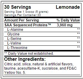Tabela Nutricional - BLOX BPI
