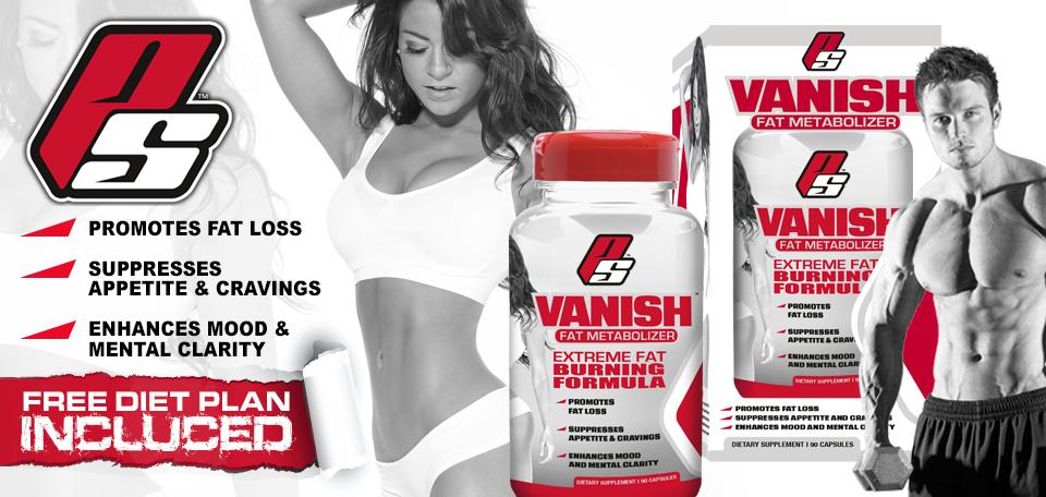 Vanish Pro Supps Banner