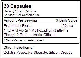 Versa-1 - USPLabs - Tabela Nutricional