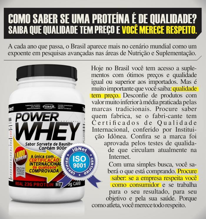 Power Whey Power Supplements