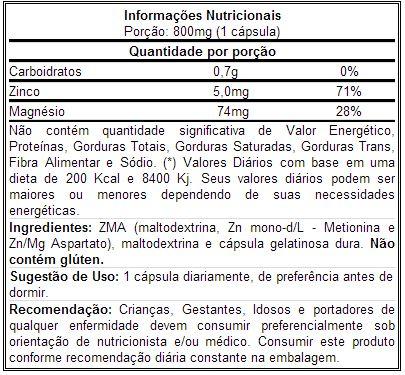 ZMA - Nutrisport
